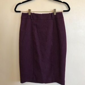 MOSSIMO maroon/plum tweed skirt